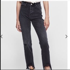free people high waisted jeans!!